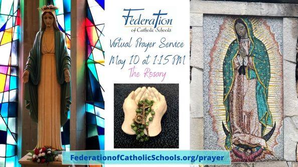 Rosary Prayer Service