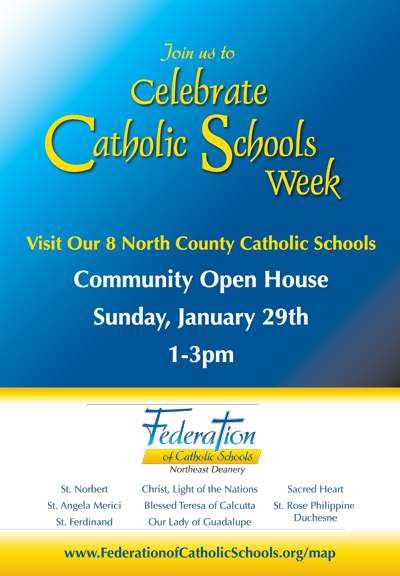 Celebrate Catholic Schools Week