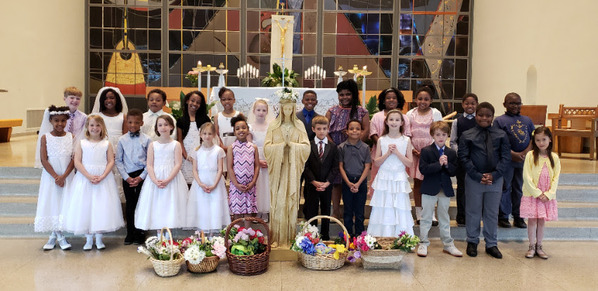 May Crowning at St. Ann School