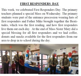 CLN First Responders Mass