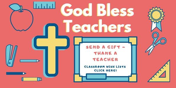 God Bless Our Teachers