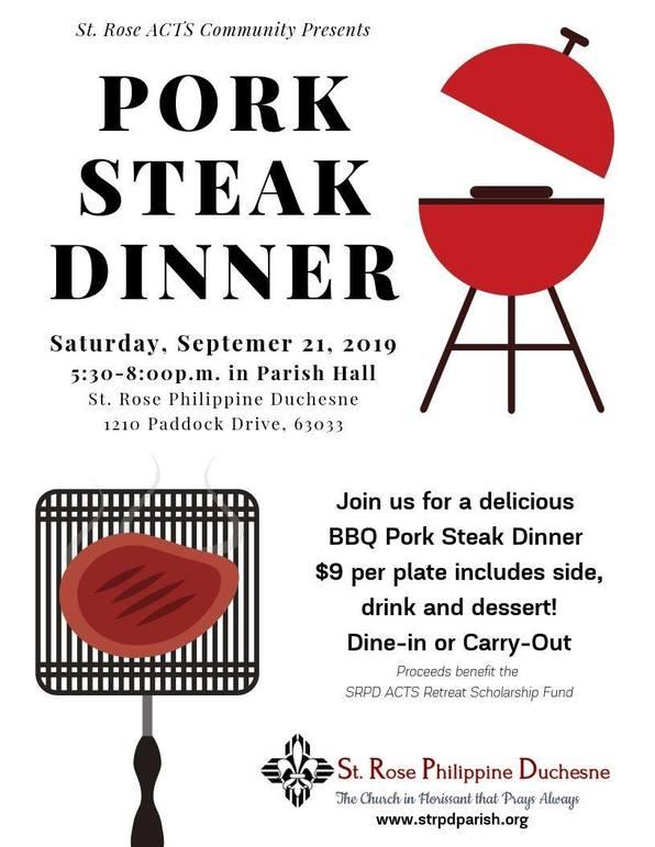 Pork Steak Dinner